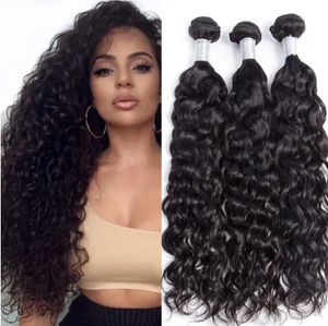 Natural Curly #2 Darkest Brown Human Hair Extensions