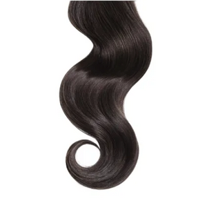 Natural Curly #3 Chocolate Brown Human Hair Extensions