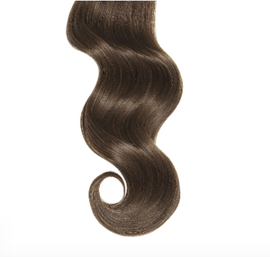 #3 Chocolate Brown Human Hair Clip In Ponytail