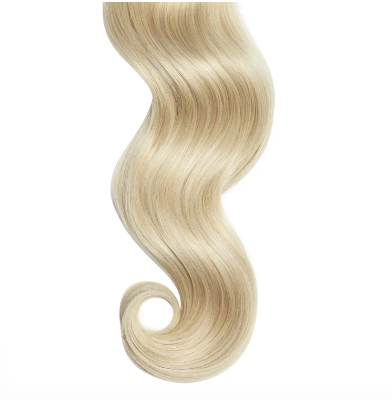 #22 Off Blonde Human Hair Clip In Extensions