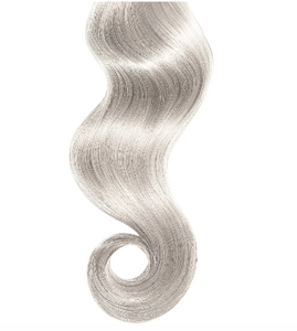 #Silver Human Hair Luxury Invisible Tape In Extension