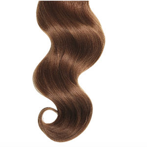 #33 Auburn Human Hair Luxury Invisible Tape In Extension