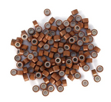 5.0mm Light Brown Silicone Lined I Tip Extension beads