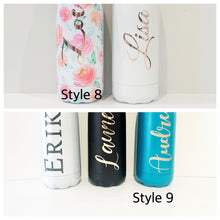 Load image into Gallery viewer, Customised stainless steel drink bottle
