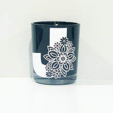 Load image into Gallery viewer, Personalised Floral Letter Candle