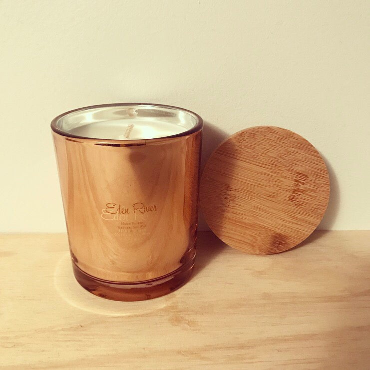 Luxury Rose Gold Candle