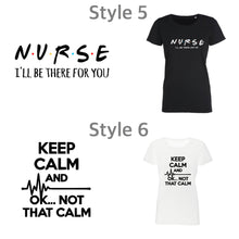 Load image into Gallery viewer, Ladies Nurse & Midwife T-shirts