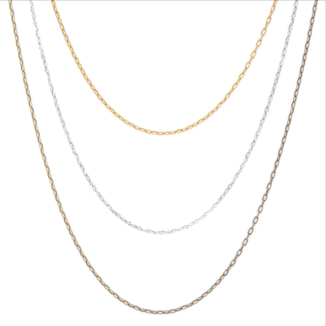 Fine Chain Necklace (M2)