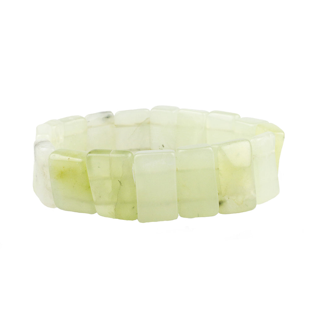 Jade Stone Stretch Bracelet (M2) NOW $11.70