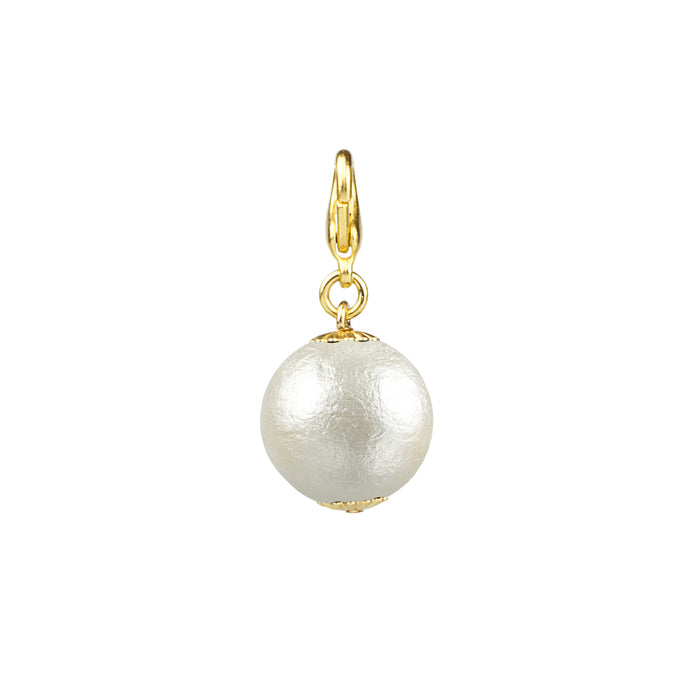Cotton Pearl Charm- 20 mm (M2)