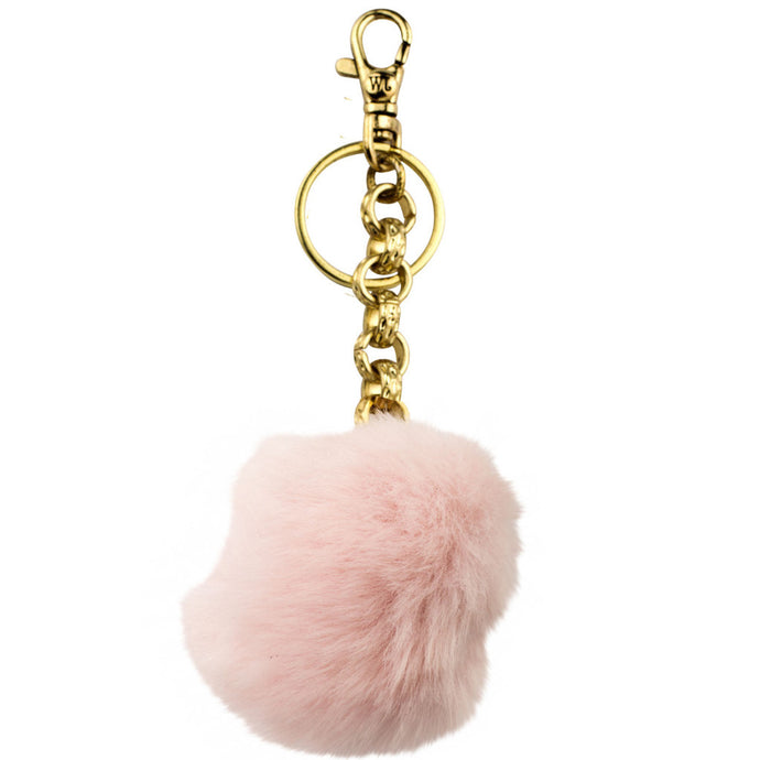 Pom Pom Bag Charms, Set of 12