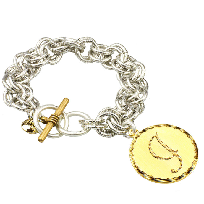 Two-Tone Sorority Gal Bracelet