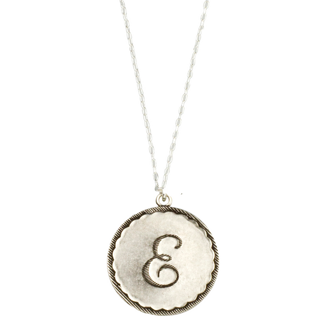Sorority Gal Initial Necklace