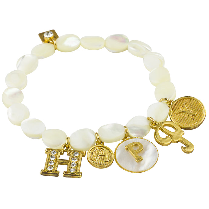 *Special* Happy Stretch Charm Bracelet (M4)