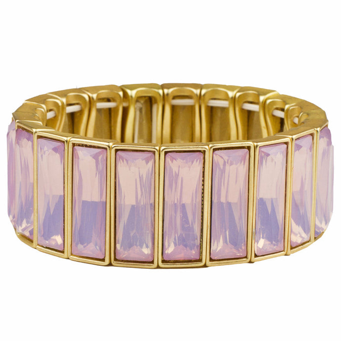 *Special* Rose Crystal Stretchy Cuff (M2)