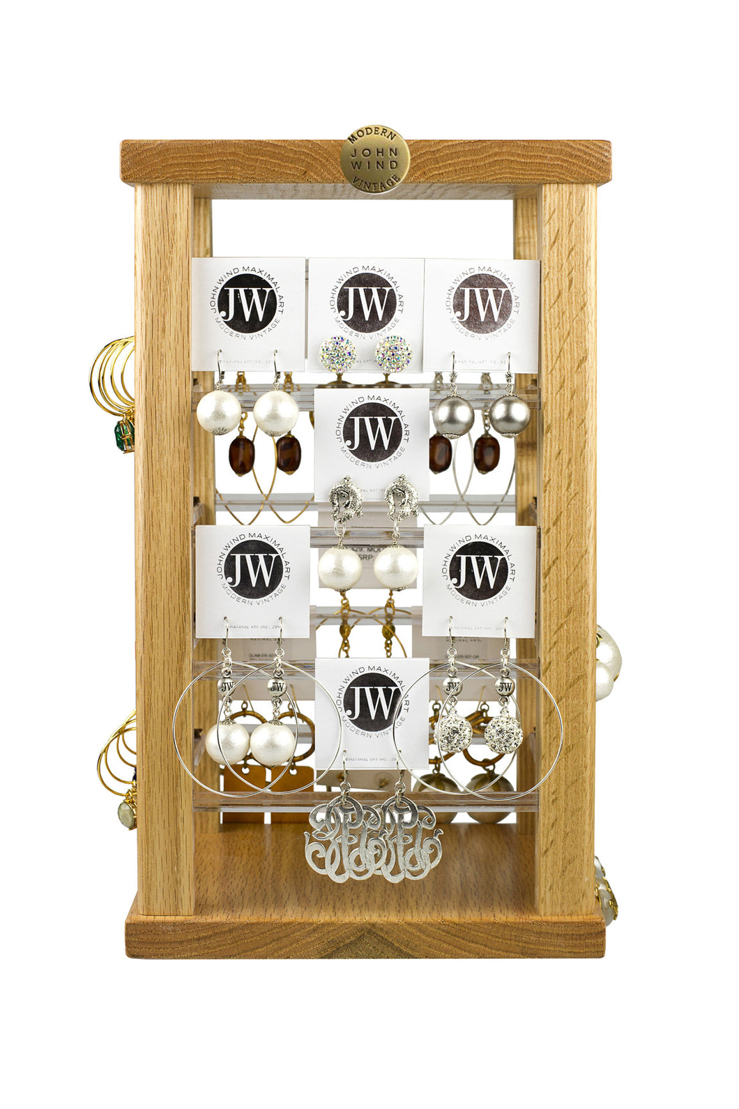 spinning earring display
