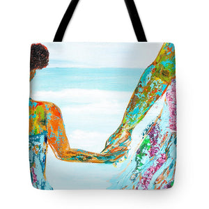 BY THE OCEAN- Tote Bag