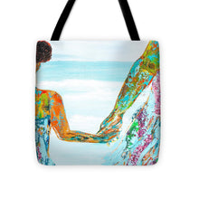 Load image into Gallery viewer, BY THE OCEAN- Tote Bag