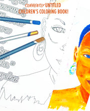 Load image into Gallery viewer, UNTITLED KIDS COLORING BOOK