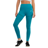 Mesh Flow Leggings Ocean