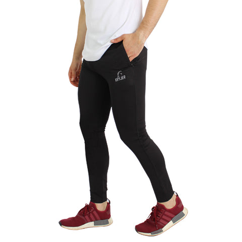 Basic Activewear Trousers Black
