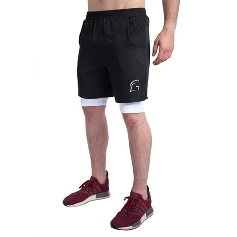 Drive Running Shorts+ Black
