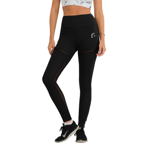 Mesh Flow Leggings Black