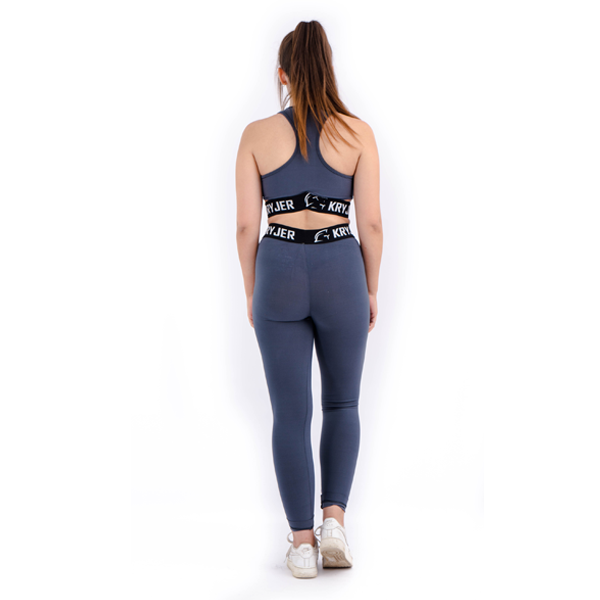 Legacy Sports Bra Grey/Black