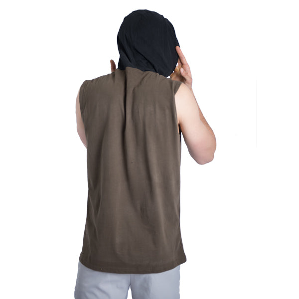 Box Fit Top Brown