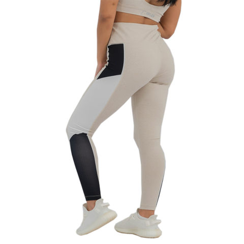 Metro Leggings Beige