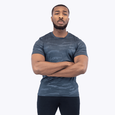 Camo T-Shirt 1.0 Dark Grey