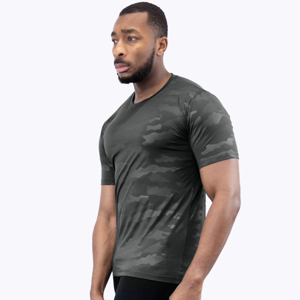 Camo T-Shirt 1.0 Antracit Black