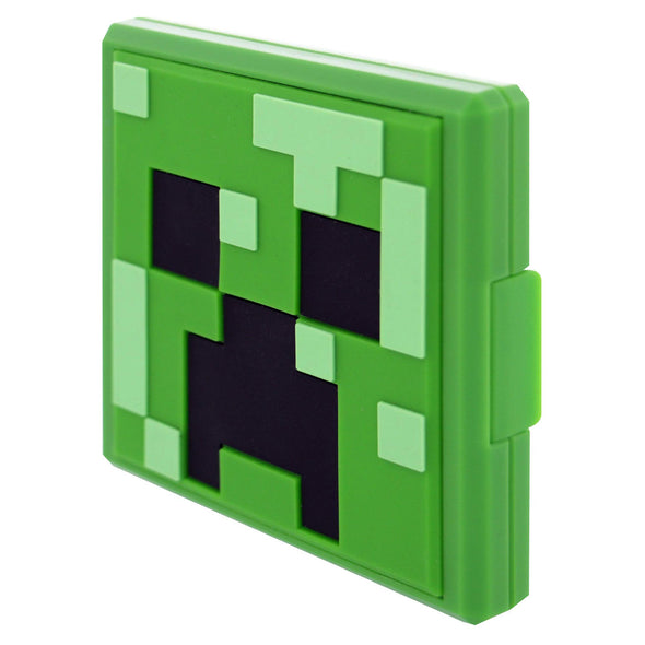 View 2 of Minecraft Creeper Game Card Case for Nintendo Switch photo.
