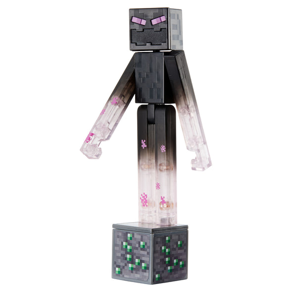 View 2 of Minecraft Teleporting Enderman Comic Maker Action Figure photo.