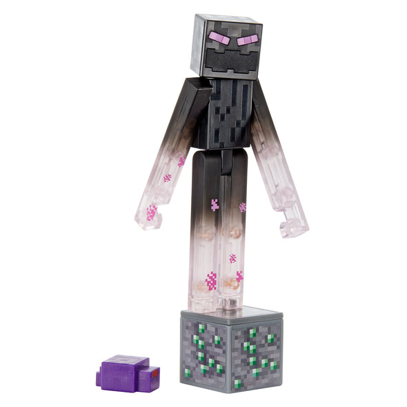 View 3 of Minecraft Teleporting Enderman Comic Maker Action Figure photo.