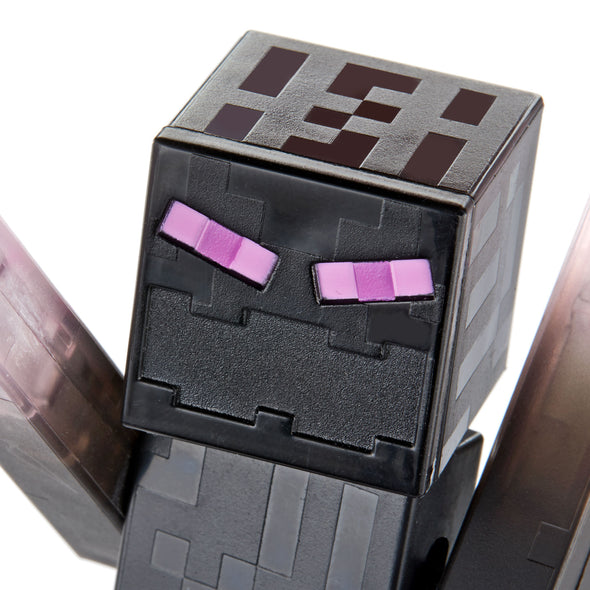 View 4 of Minecraft Teleporting Enderman Comic Maker Action Figure photo.