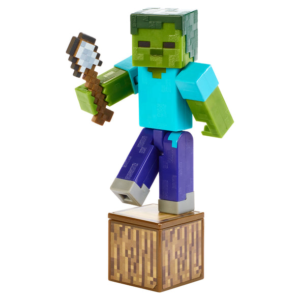 View 2 of Minecraft Zombie Comic Maker Action Figure photo.
