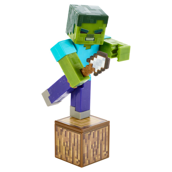 View 3 of Minecraft Zombie Comic Maker Action Figure photo.