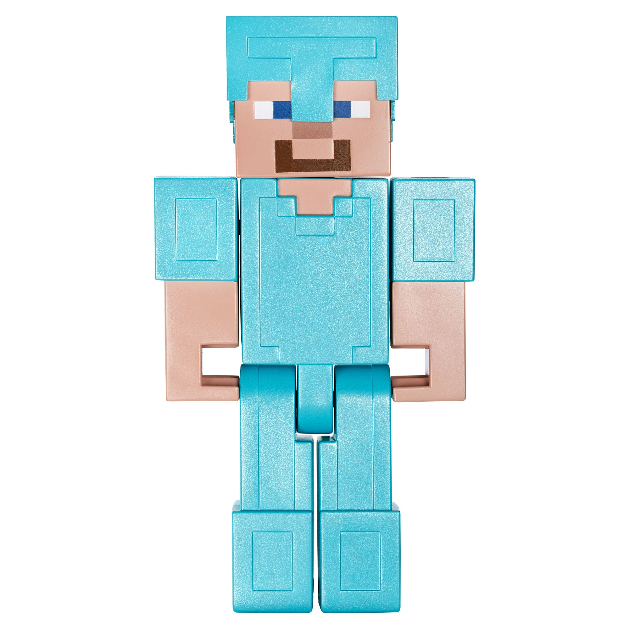 Minecraft Steve In Diamond Armor Large Scale Action Figure Official Minecraft Store Powered By J Nx