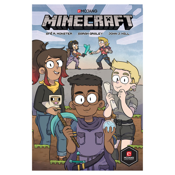 View 1 of Minecraft Graphic Novel, Volume 1 photo.
