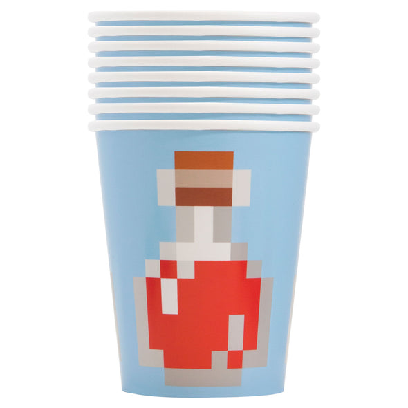 View 1 of Minecraft Potion 9 oz Paper Cup, 8-Pack photo.