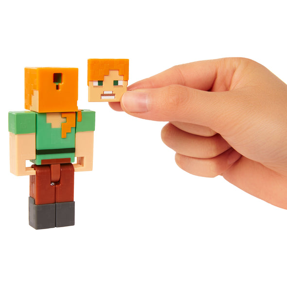 View 4 of Minecraft Phantom & Alex Comic Maker Action Figure Set photo.