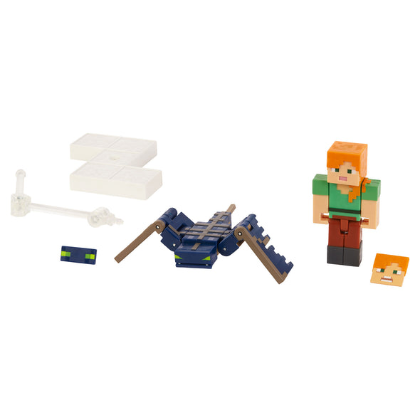 View 5 of Minecraft Phantom & Alex Comic Maker Action Figure Set photo.