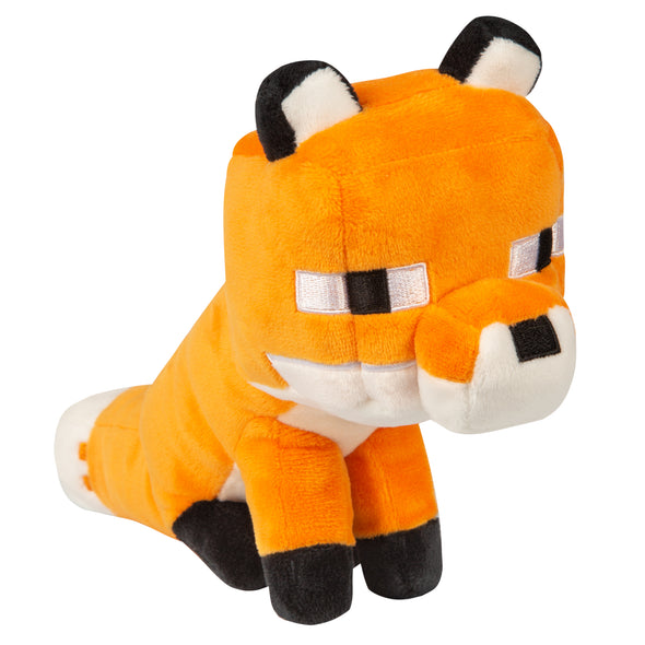 View 1 of Minecraft Happy Explorer Fox Plush photo.