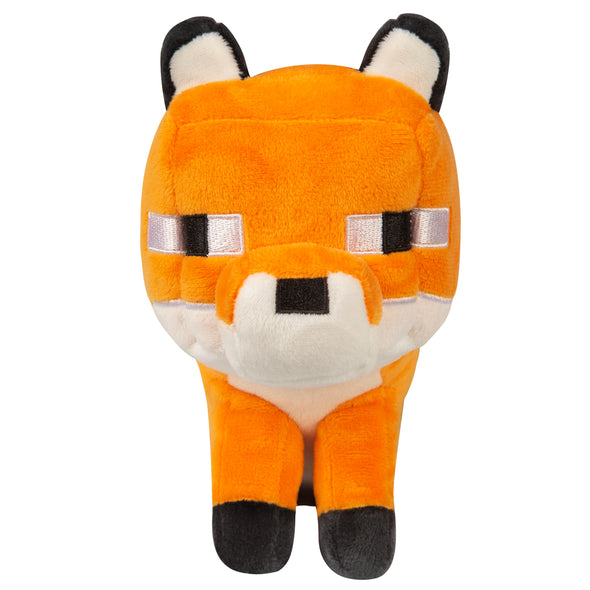 View 2 of Minecraft Happy Explorer Fox Plush photo.