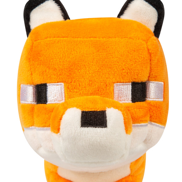 View 5 of Minecraft Happy Explorer Fox Plush photo.