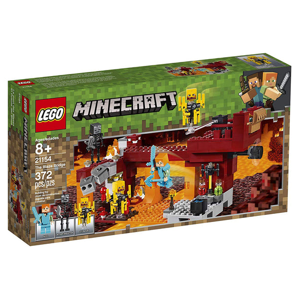 View 5 of Minecraft The Blaze Bridge LEGO Building Kit photo.