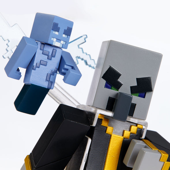 View 5 of Minecraft Evoker Comic Maker Action Figure photo.