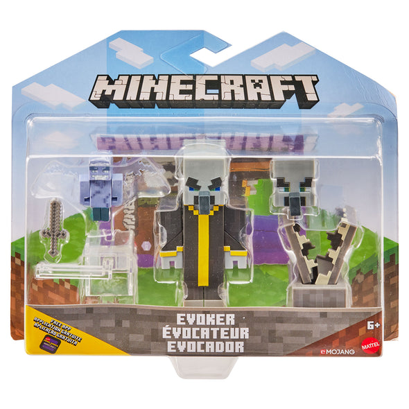 View 8 of Minecraft Evoker Comic Maker Action Figure photo.