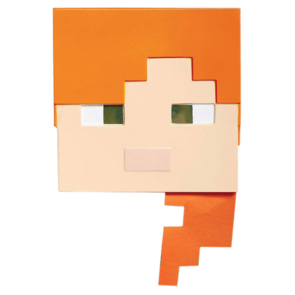 View 1 of Minecraft Alex Child's Mask photo.